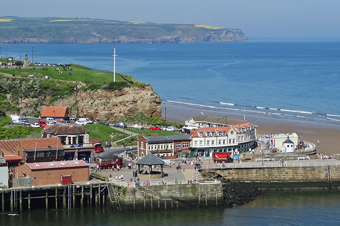 Whitby coastline